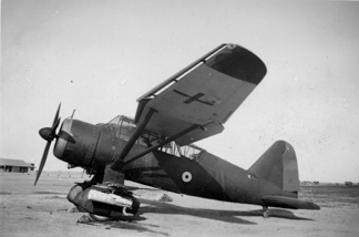 208 Squadron Lysander I L4719 Middle East 1939