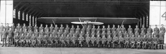 211 Squadron large group Grantham 1938