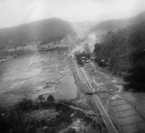 Railway attack 7 April 1945 near Sop Moi