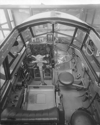 Blenheim I cockpit Cooper