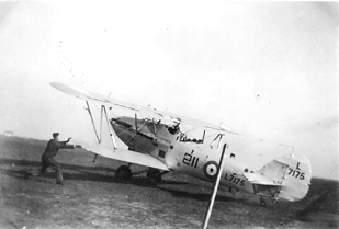 Hawker Hind L7175 of 211 Squadron 1938