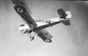 Hawker Hind 211 Squadron  AO N K6833