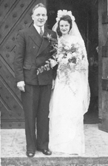 Mr and Mrs Abbs  Dec 1947