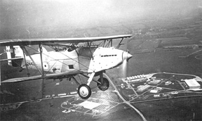 Hawker Hart I K2442: B Flight, 33 Squadron, 1932