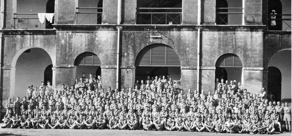 11 Squadron RAF, St Thomas Mount, July 1945
