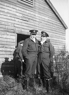 Uncle Gordon and Dad 1942 Scotland