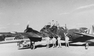 Bristol Beaufighter 177 Sqdn Burma