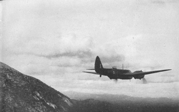 Bristol Blenheim I striking north